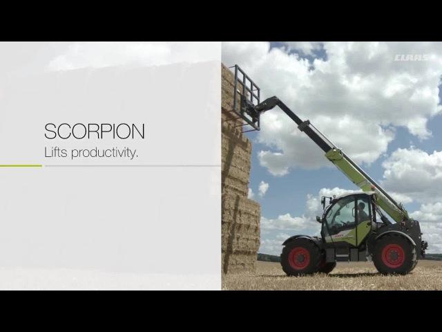 CLAAS SCORPION. Lifts productivity.