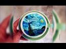 Шедевр в чашке бариста из Сеула пишет картины на кофейной пенке