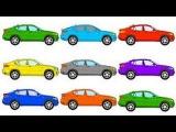МАШИНКИ  Мультики про машинки  Развивающие мультфильмы для детейMACHINES  Cartoon about cars