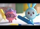 Малышарики - Фломастеры (3 серия). Обучающий мультик для малышей 0-4 лет