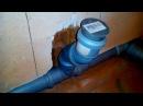 Монтаж установка канализационных труб в санузле ванной своими руками развод