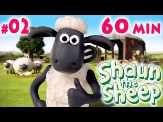 Барашек ШОН 1 сезон, 11-20 серия 02   Shaun the Sheep season 1 One Hour ʕ•͡ᴥ•ʔ 02, 60 min