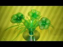 USE PLASTIC BOTTLE TO MAKE AMAZING DEGINS FROME BOTTLE FLOWER