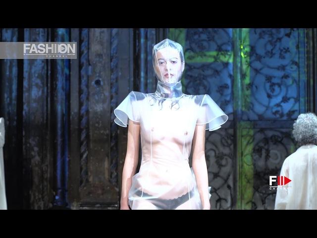 SHEGUANG HU New York Fashion Week Art Hearts Fall Winter 2017 2018 Fashion Channel