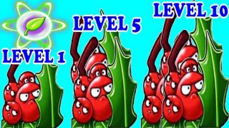 Holly Barrier Pvz 2 Level 1-5-10 Power-up in Plants vs. Zombies 2: Gameplay 2017