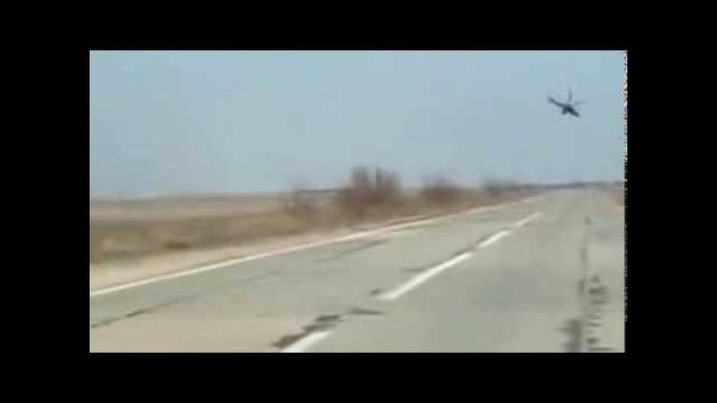 Военное вторжение России на территорию Украины (с.Стрелковое). Российские Десан ...