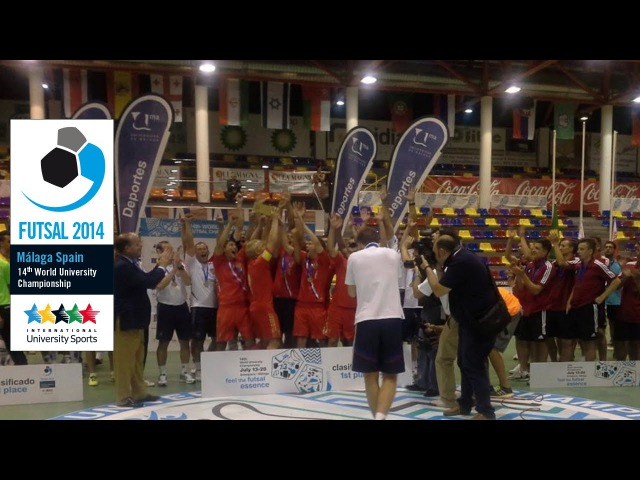 Russia - Brazil, Males final WUC Futsal 2014 - FISU World University Championship 2014