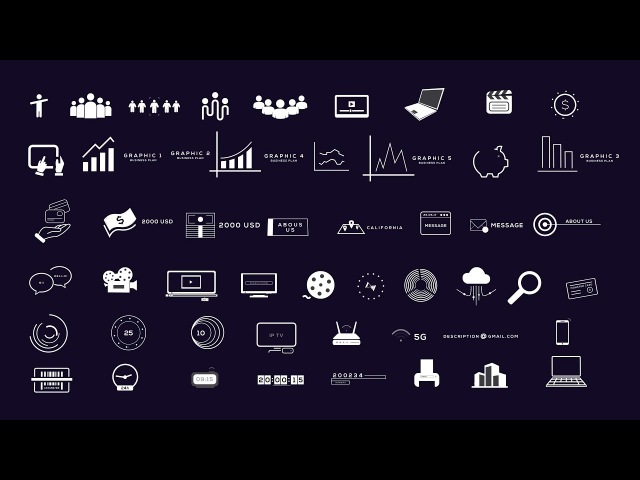 Big Data - Business Infographics Pack