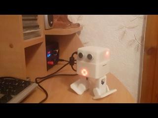 Arduino робот своими руками. Копия ZOWI с управлением по buetooth через приложение Zowi app.