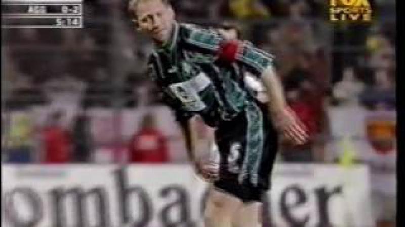 Werder Bremen 2-4 Arsenal UEFA Cup 199900 FULL MATCH