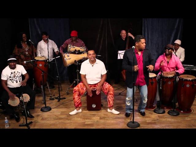 Kambalache Negro in the LP Studio (1)