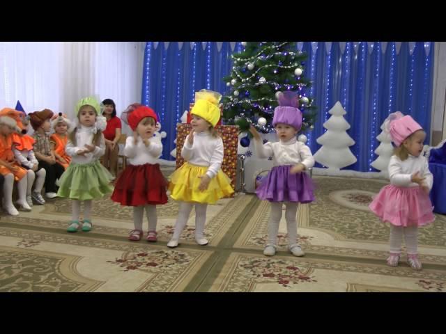 Танец хлопушек на новогоднем утреннике 2016 в яслях.Муз. рук. Максюта Г. В