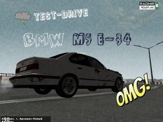 RADMIR RP | 02 #4 Тест-Драйв BMW M5 E-34