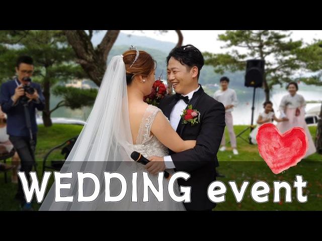 야외결혼식_스케치 공연_네가티브모션