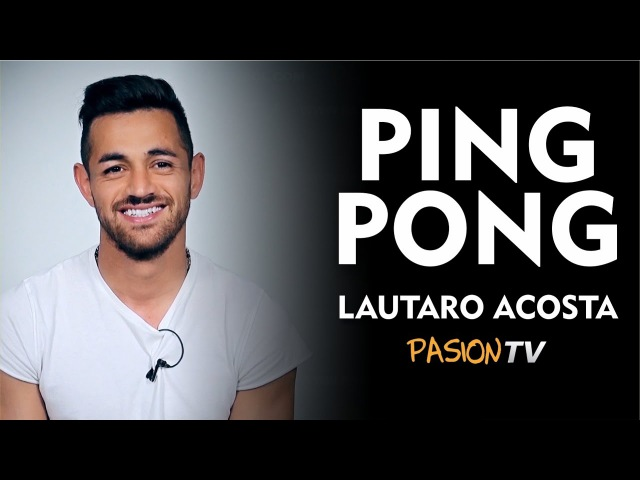 Laucha Acosta la rompió en el ping pong de Pasión TV.