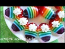 Rainbow Jell-O Jiggler Deviled Eggs for Easter!! - Jello Mold Recipe