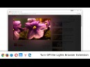 Turn Off the Lights Browser Extension for Google Chrome Firefox Opera Safari and Microsoft Edge