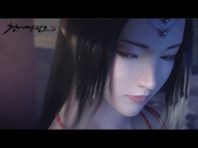 Moonlight Blade Online 天涯明月刀.ol - KR version Cinematic Trailer Open Beta January 25 2018