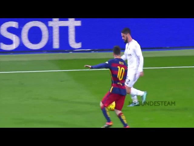 Real Madrid Players Humiliate Messi HD