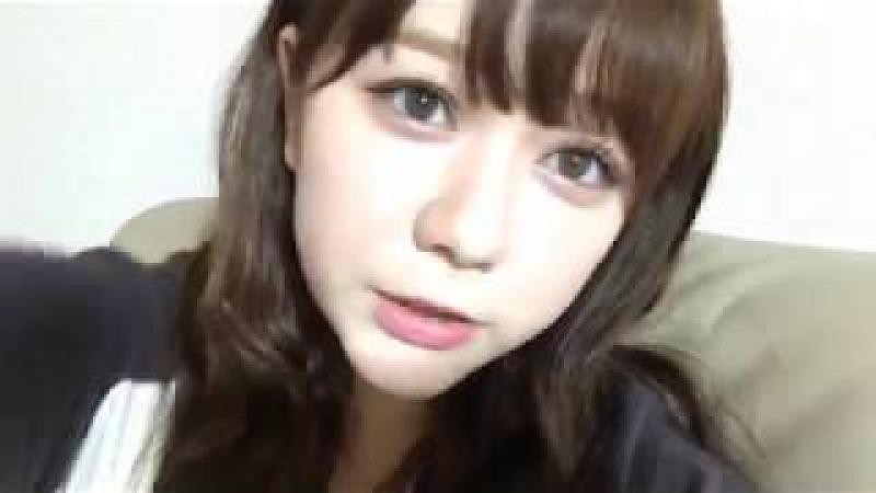 村重杏奈 (HKT48 チームKIV) 2017年07月20日 あーにゃ SHOWROOM 19:05