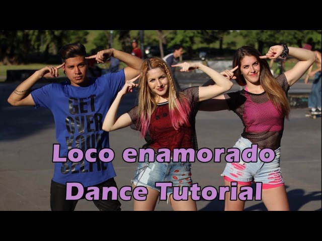 Abraham Mateo, Farruko - Loco Enamorado   DANCE TUTORIAL - A bailar con Maga