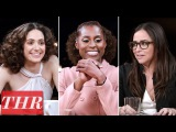 THR Full Comedy Actress Roundtable Emmy Rossum, Issa Rae, Pamela Adlon, America Ferrera &amp More!