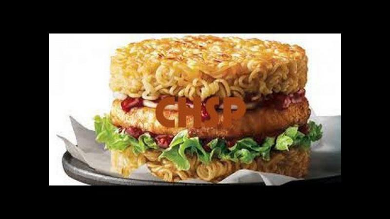 АДСКАЯ КУХНЯ №1: Доширак бургер