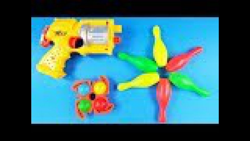 COLORFUL TOY GUN FOR KIDS Ball Bullet Gun Shooting Power Rangers with Toy Gun for Kids and Children
