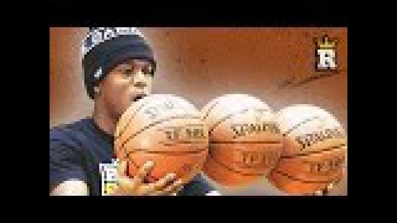 KSI Learns Freestyle Basketball: 3 Ball Dribble   Rule'm Sports