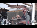 Ian Paice batterista dei Deep Purple Soundcheck a Borgoratto con i Beggar's Farm
