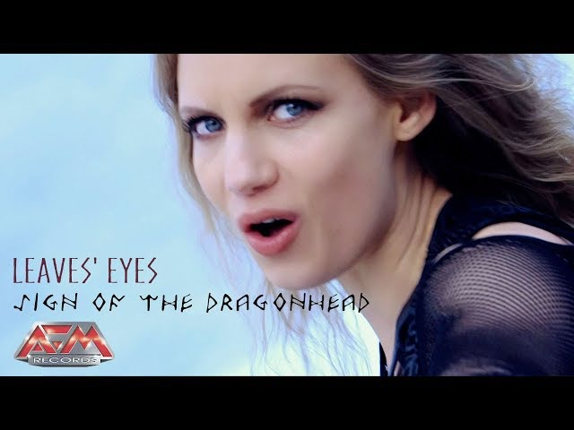 LEAVES EYES - Sign Of The Dragonhead (2017) official clip AFM Records
