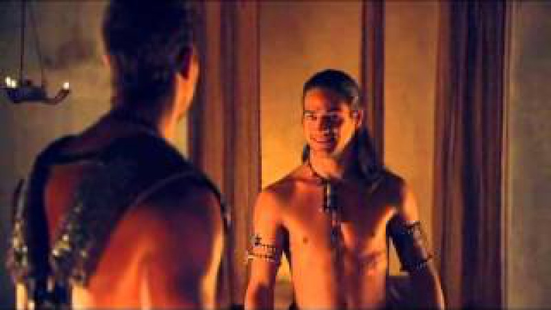 Agron and Nasir - 3x03 - I would slay all that lay attempt to wrest you from my arms