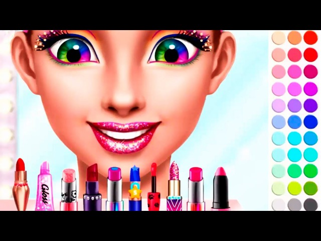 Hannah's High School Summer Crush: Care Makeover Learn Colors Games for Kids