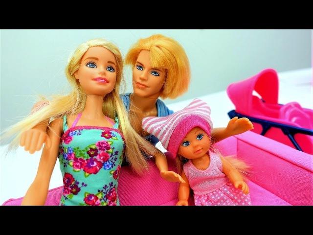 Giochi con Barbie per bambini in italiano-Una giornata con Mamma e Papà-Nuovi episodi
