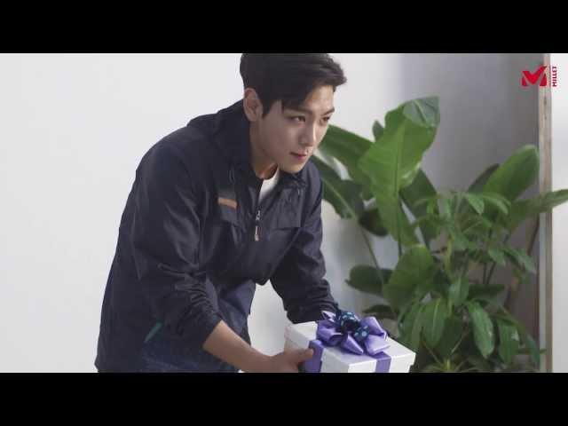 [밀레] 탑(T.O.P)과 박신혜의 2014 SS 카달로그 촬영현장