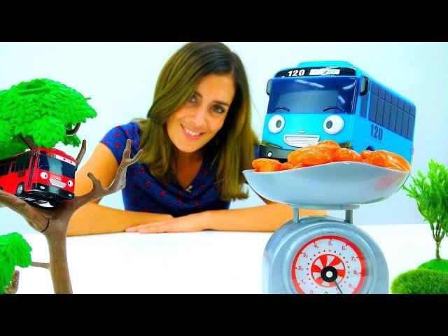 Play Doh Video: das Mittagessen für Tayo Toys🚌Tayo der Bus Spielzeugautos🚍Play Doh Set für Kinder
