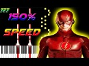 The Flash Main Theme - Piano Tutorial
