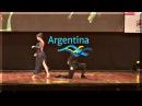 Mundial de Tango 2017 Campeones mundiales Axel Arakaki Agostina Tarchini