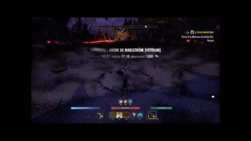 Vma Magicka Templar - 580k Score - (Clockwork City Eso)
