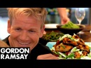 Spicy Chicken Wings, Thai Green Curry Rice Green Beans with Chilli Peanut Dressing | Gordon Ramsay