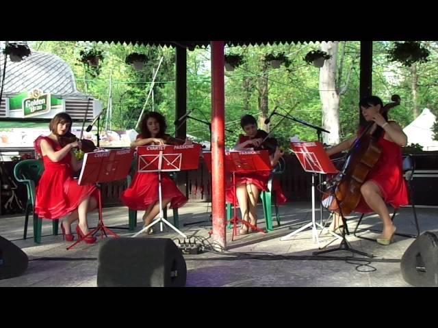 Kalinka Cvartet Passione in Parc Cismigiu