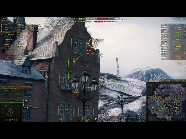 World of Tanks ВБР Без комментариев Маус (No comments Maus) обух