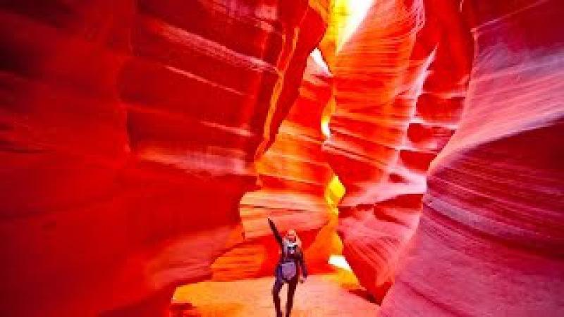 Antelope Canyon, HD, GoPro