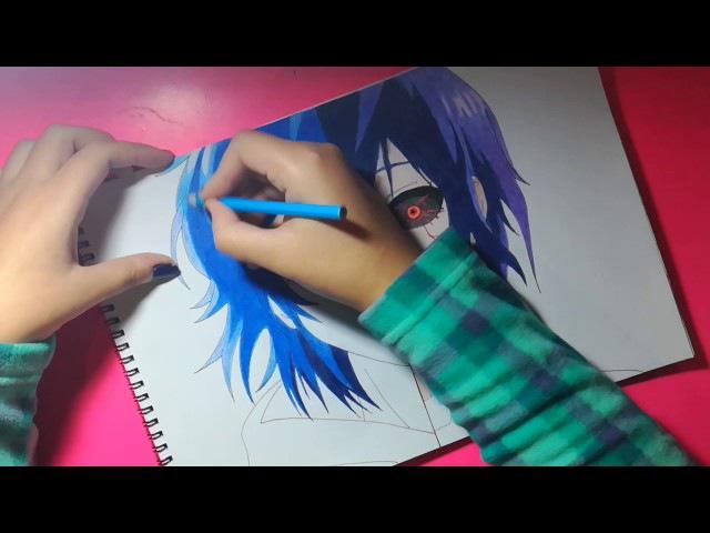 Speed Drawing - Ayato Touka Kirishima (Tokyo Ghoul)