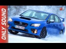 NEW SUBARU AWD LINEUP 2017 - FINLAND SNOW TEST DRIVE ONLY SOUND