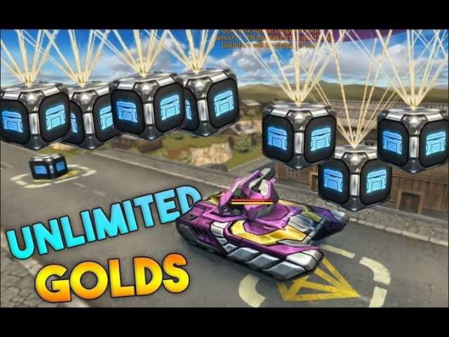 Tanki Online Gold Box Rain - Servers crashed Unlimited Gold's (Black Friday)