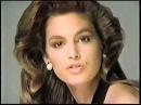 Синди Кроуфорд в рекламе Revlon 1987