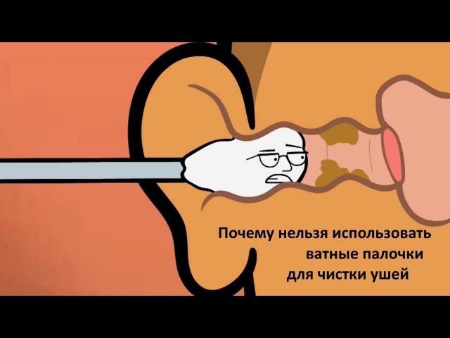 Почему нельзя использовать ватные палочки для чистки ушей | Адам портит всё