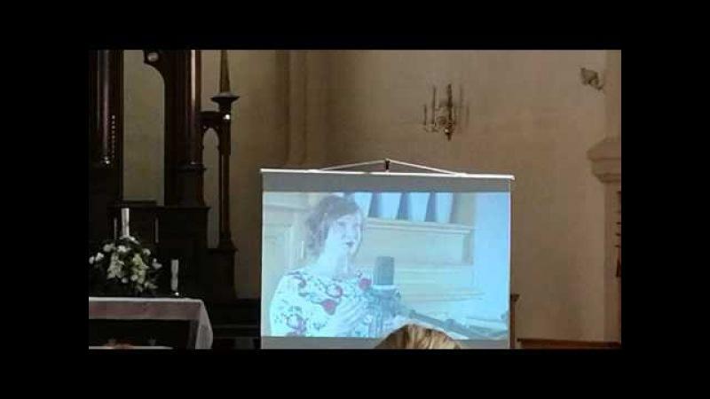 H.Persels Didonas ārija. Dzied Baiba Renerte.Koncertā Rēzeknes katedrālē.