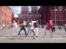 Клубный танец ИТЕМА Волны на Красной площади